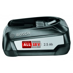 Bosch 18 V 2,5 Ah Power for ALL batteri