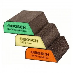 3pack slipsvampar Bosch 69X97X26mm